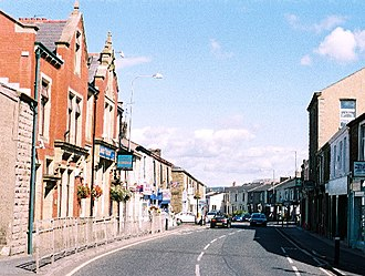 Rishton - Image: Rishton the main road geograph.org.uk 35564