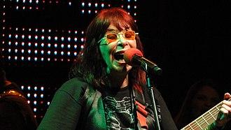 Brazilian rock - Rita Lee from Os Mutantes.