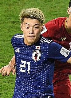 Ritsu Doan Japanese association football player