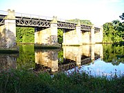 River Dee Railway Bridge - geograph.org.uk - 1445234