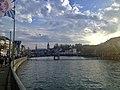 River Limmat, Zurich Limmatquai 03.jpg