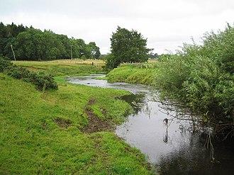 River Wansbeck - The River Wansbeck near Low Angerton