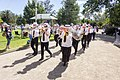 Riverina Concert Band leads the match procession at the Centenary of the Kangaroo March launch.jpg
