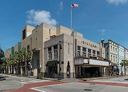 Riviera Theatre, Charleston SC, Southwest view 20160704 1.jpg