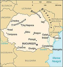 Harta Romania Galati