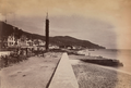 Road along top of harbour in Funchal (1880) - Reverend J N Dalton.png