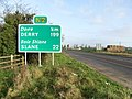 Road sign at Rath, near Ashbourne, Co. Meath - geograph.org.uk - 1205623.jpg