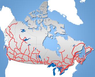 Roads in Canada - Major roads in Canada