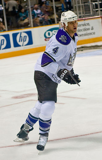 Rob Blake - Blake in his second tenure with the Kings in 2008.