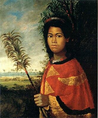 1825 in art - Image: Robert Dampier (1800–1874), Nahiennaena (1825)