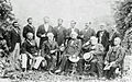Robert E Lee with his Generals, 1869.jpg
