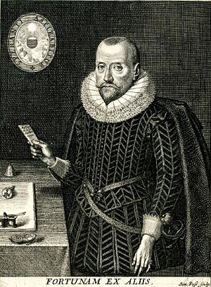 Robert Naunton - Robert Naunton. Engraving by Simon de Passe