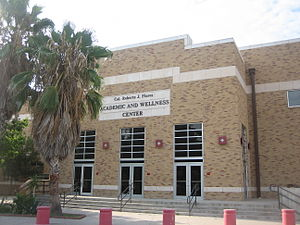 Martin High School (Laredo, Texas) - The Colonel Roberto Flores Academic and Wellness Center on the Martin High School campus