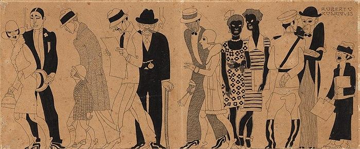 """Roberto F. Rodrigues/Sebastião Fernandes, """"The Avenue Floor"""", 1928"""