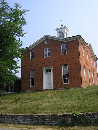 Robertson County, Kentucky - Image: Robertson county kentucky courthouse