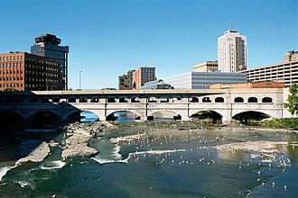 Rochester Subway - Rochester NY Broad Street Bridge 2002