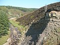 Rock outcrop above the Little Don River - geograph.org.uk - 1275529.jpg