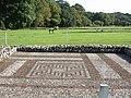 Rockbourne, Roman mosaic - geograph.org.uk - 1481949.jpg