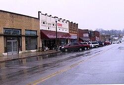 Rockwood Street in Rockwood, Tennessee