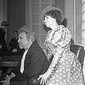 Rolf Berntzen og Karin Simonnæs i teaterstykket Kirsebærhaven (1968) (14637062346).jpg
