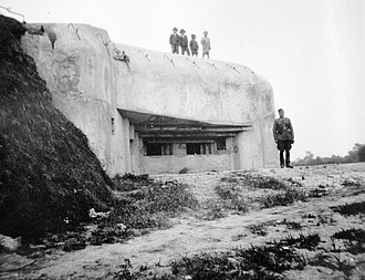 Second Vienna Award - Romanian casemate occupied by Hungarian troops