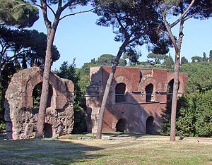 Aqua Claudia - The Arcus Nerioniani near the Caelian and the Palatine Hills.
