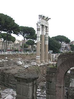 Forum of Caesar square