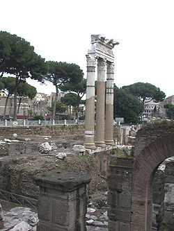 The Forum of Caesar  and the Temple of Venus Genetrix