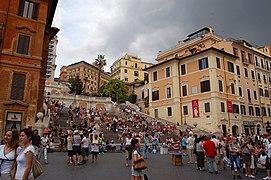 Roma - Piazza di Spagna - panoramio