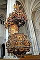 Romania-2361 - Pulpit of St. Michaels Church (7794294324).jpg