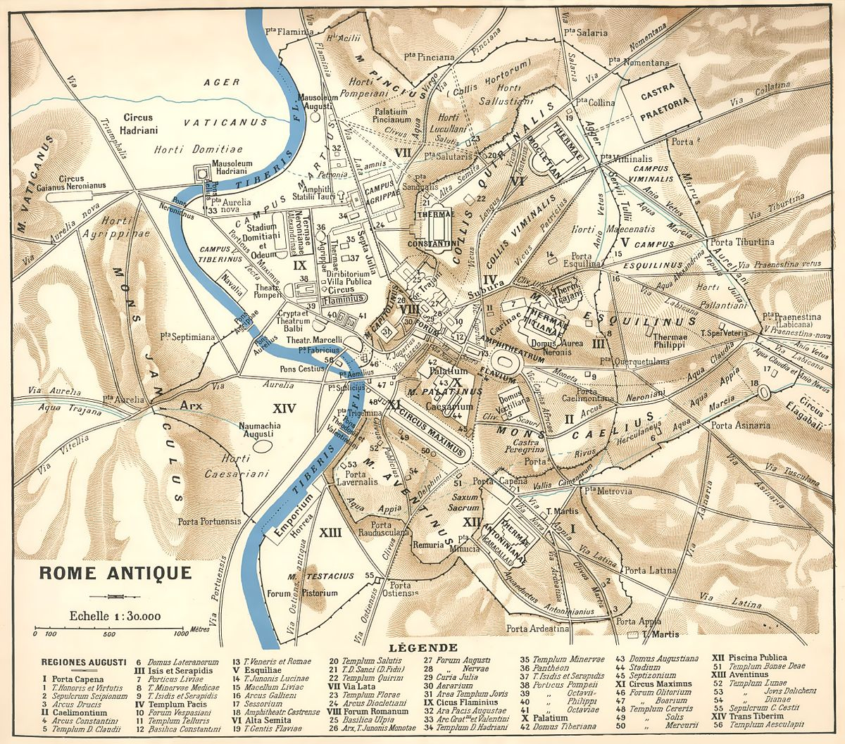 carte de rome antique File:Rome antique (larousse modf).   Wikimedia Commons