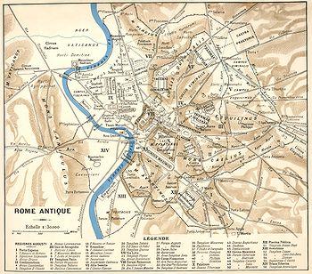 Ou Se Situe Rome Sur Une Carte