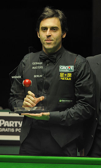 2012 German Masters - Image: Ronnie O'Sullivan at German Masters Snooker Final (Der Hexer) 2012 02 05 65