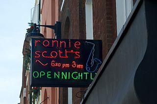 Ronnie Scotts Jazz Club jazz club in soho, london