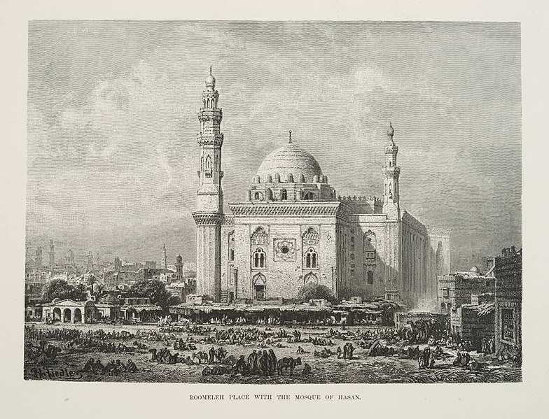 ملف:Roomeleh Place and Mosque of Hasan (1878) - TIMEA.jpg