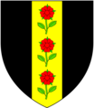 Rose (ofWoottonFitzPaine Dorset) Arms.png