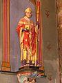 Rouffignac-Saint-Cernin église statue St Germain.JPG
