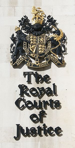 Operation Snow White - The Royal Courts of Justice, London, where Kember and Budlong's plea for political asylum was denied.