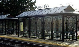 Royal Oak, Michigan - Royal Oak train platform