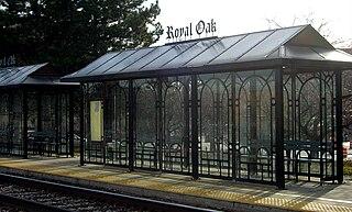 Royal Oak station (Michigan) Amtrak station in Royal Oak, Michigan
