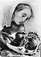 Rudolf Heinisch, Kreuzweg - XIII. Christus auf Mariens Schoß, 1945.jpeg