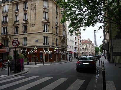 Comment aller à Rue Saint-Charles et Rue Varet en transport en commun - A propos de cet endroit