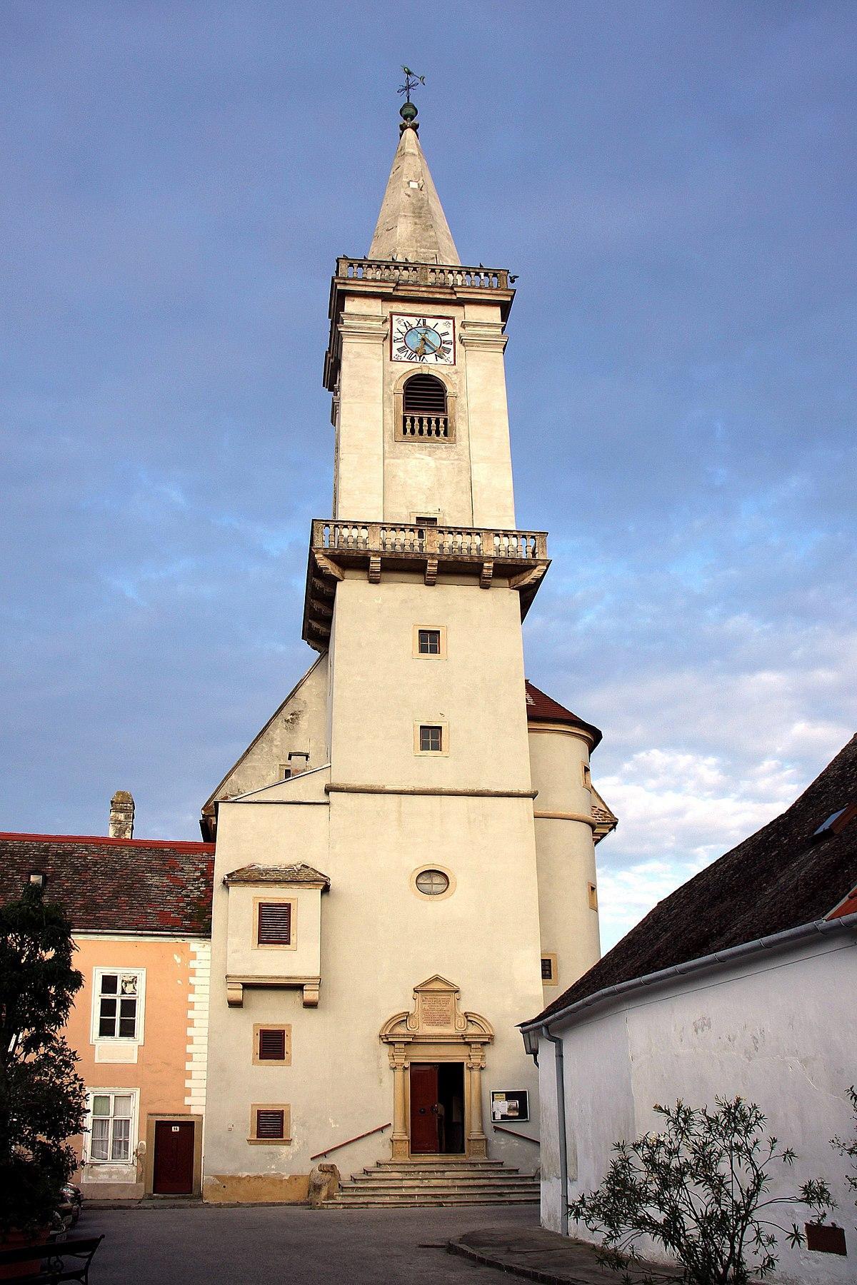 Katholische Pfarrkirche Rust am See – Wikipedia