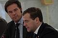 Rutte en Medvedev staan de pers te woord (6266063860).jpg