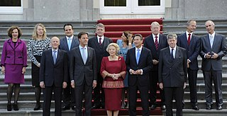 First Rutte cabinet 68th cabinet of the Netherlands