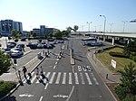 Ruzyně, letiště, parkoviště B, z mostu.jpg
