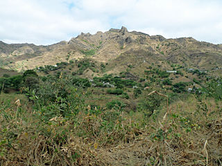 São Jorge (Santiago) Settlement in Santiago, Cape Verde