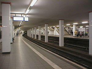 Berlin Potsdamer Platz station - S-Bahn Platform