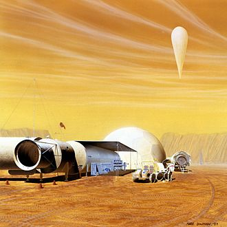 Mars habitat - Image: S89 51054