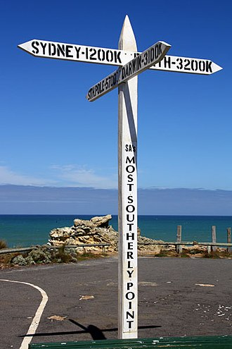 Cape Northumberland (South Australia) - Image: S As Southern Point